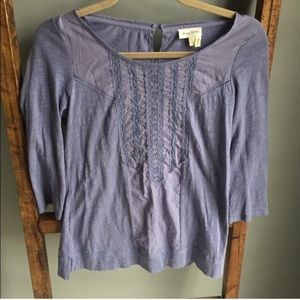 Anthropologie Tops - Anthropologie Meadow Rue boho peasant style top